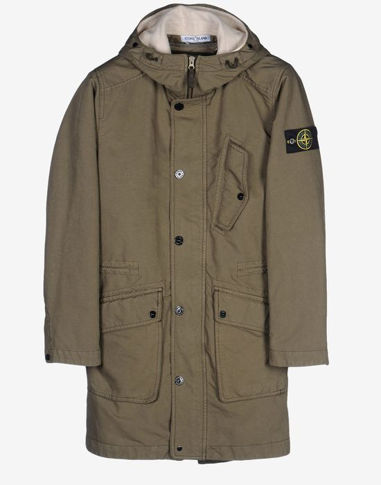 Parka Stone Island Men Official Store