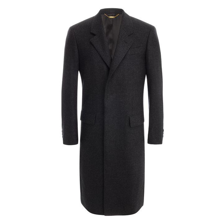 Alexander McQueen, Prince of Wales Cashmere Overcoat