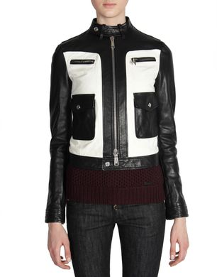 DSQUARED2 Leather outerwear D S72AM0331SX7818 f