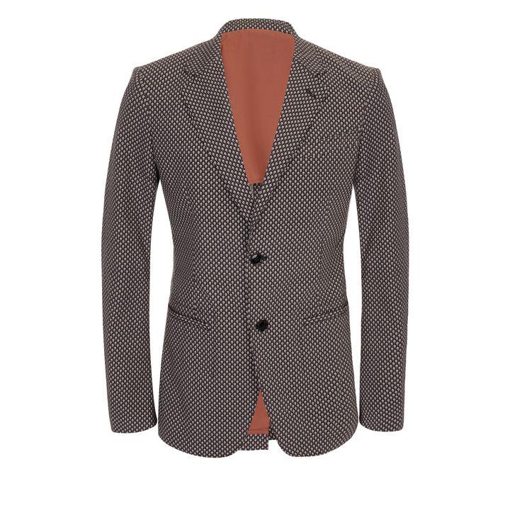 Alexander McQueen, Print Deconstructed 2-Button Jacket