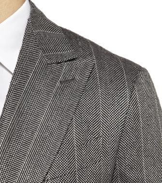 ERMENEGILDO ZEGNA: Formal Jacket Grey - 41383333EX