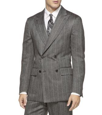 ERMENEGILDO ZEGNA: Formal Jacket Steel grey - 41383333EX