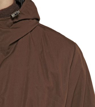 ZZEGNA: Trench Dark brown - 41383336ar