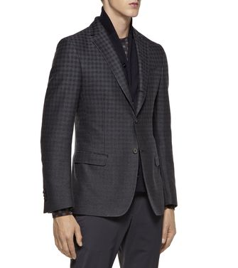 ZZEGNA: Formal Jacket Steel grey - 41383338CX
