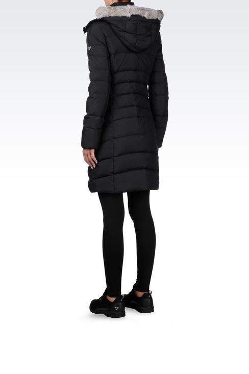 OUTERWEAR: Down coats Women by Armani - 3