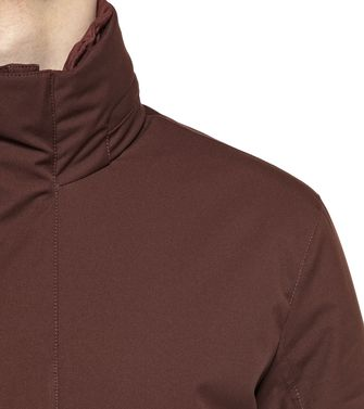ZEGNA SPORT: Fabric Jacket Brick red - Dark brown - 41384960WX