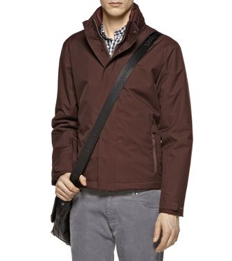 ZEGNA SPORT: Fabric Jacket Black - Dark brown - 41384960WX