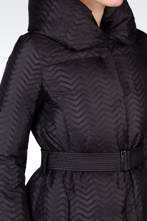 CHEVRON DOWN JACKET: Dust jackets Women by Armani - 4