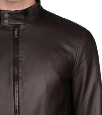 ZZEGNA: Leather outerwear  - 41387021OQ