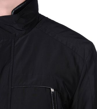 ZEGNA SPORT: Fabric Jacket Black - 41388239SJ