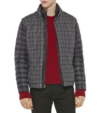 ZEGNA SPORT: Fabric Jacket Brick red - Dark brown - 41388241SP