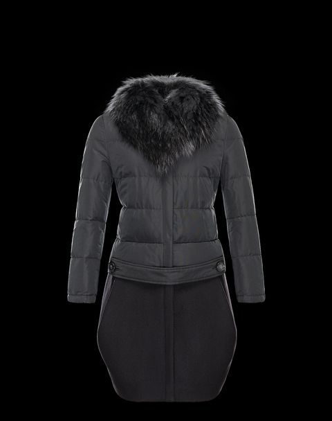 MONCLER Women - Fall-Winter 13/14 - OUTERWEAR - Coat - RHUBARBE