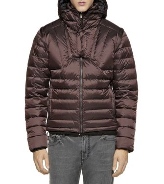 ZEGNA SPORT: Fabric Jacket Brick red - Dark brown - 41393076GI