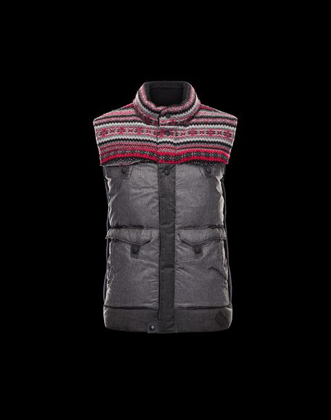 MONCLER W Men - Fall-Winter 13/14 - OUTERWEAR - Vest - AVENGER
