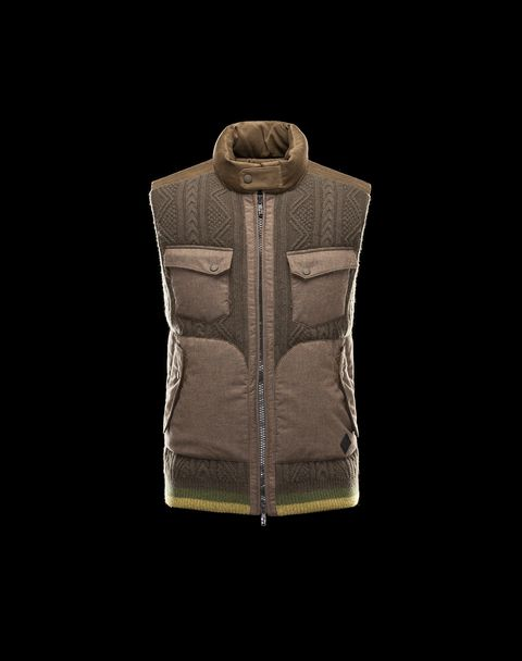 MONCLER W Men - Fall-Winter 13/14 - OUTERWEAR - Vest - COUGER