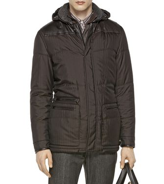 ERMENEGILDO ZEGNA: Fabric Jacket Dark brown - 41396725MM