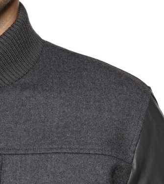 ZEGNA SPORT: Fabric Jacket Black - 41396727VO
