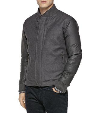 ZEGNA SPORT: Fabric Jacket Black - Dark brown - 41396727VO