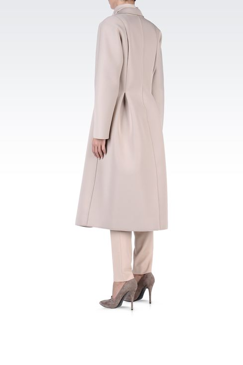 Coats: Double-breasted coats Women by Armani - 3