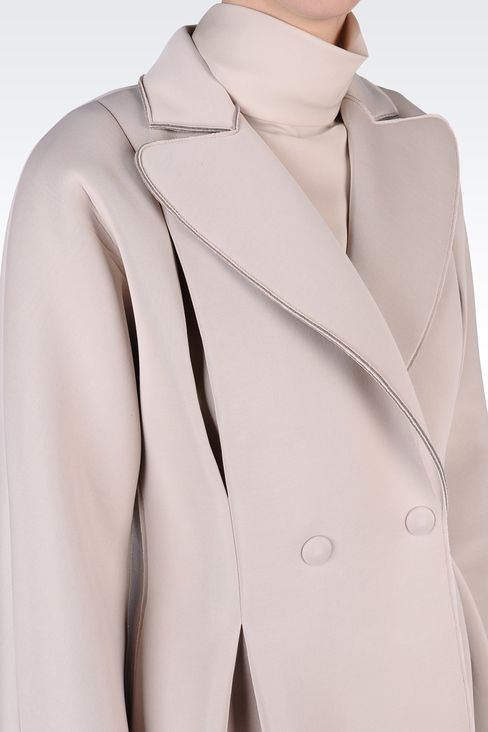 Coats: Double-breasted coats Women by Armani - 4
