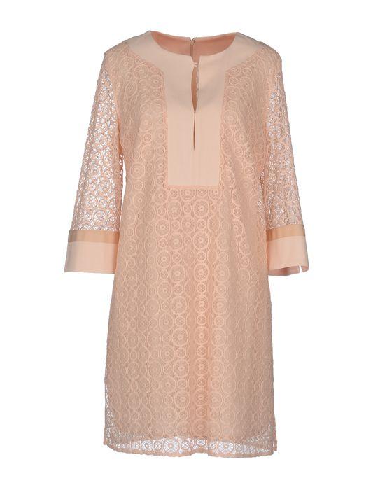 Фото PAOLO PETRONE Короткое платье. Купить с доставкой