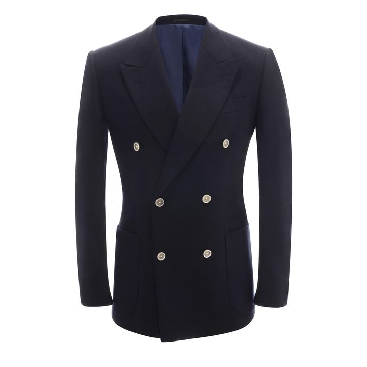 Alexander McQueen, Light Cashmere Double Breasted Jacket