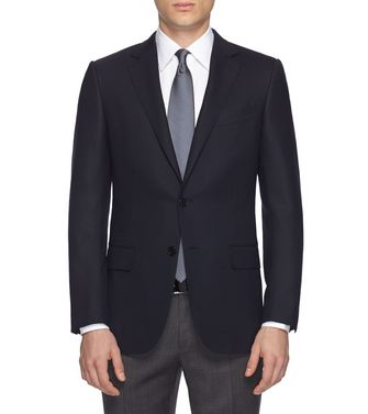 ERMENEGILDO ZEGNA: Formal Jacket Blue - 41406355BX