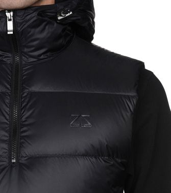 ZEGNA SPORT: Fabric Jacket Black - 41407881BW