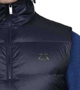 ZEGNA SPORT: Fabric Jacket Blue - 41407882CQ