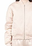 T by ALEXANDER WANG TECHNICAL MEMORY SATIN BOMBER JACKET BOMBER Adult 8_n_a