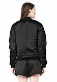 T by ALEXANDER WANG TECHNICAL MEMORY SATIN BOMBER JACKET BOMBER Adult 8_n_d