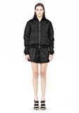T by ALEXANDER WANG TECHNICAL MEMORY SATIN BOMBER JACKET BOMBER Adult 8_n_f