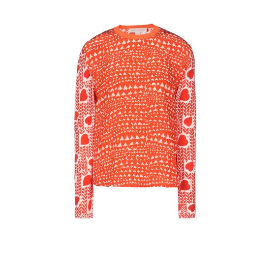 STELLA McCARTNEY, Sweater, Heart Print Jumper