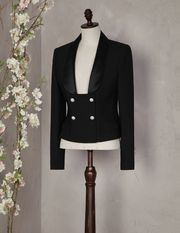 JEWELLED BUTTON TUXEDO BLAZER - Women's suits - Dolce&Gabbana - Summer 2016