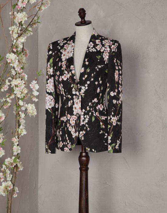 ALMOND FLOWER-PRINT KATE FIT BLAZER - Women's suits - Dolce&Gabbana - Summer 2016