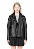 ALEXANDER WANG BOXY LEATHER JACKET Jacket Adult 8_n_e