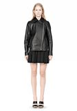 ALEXANDER WANG BOXY LEATHER JACKET Jacket Adult 8_n_f