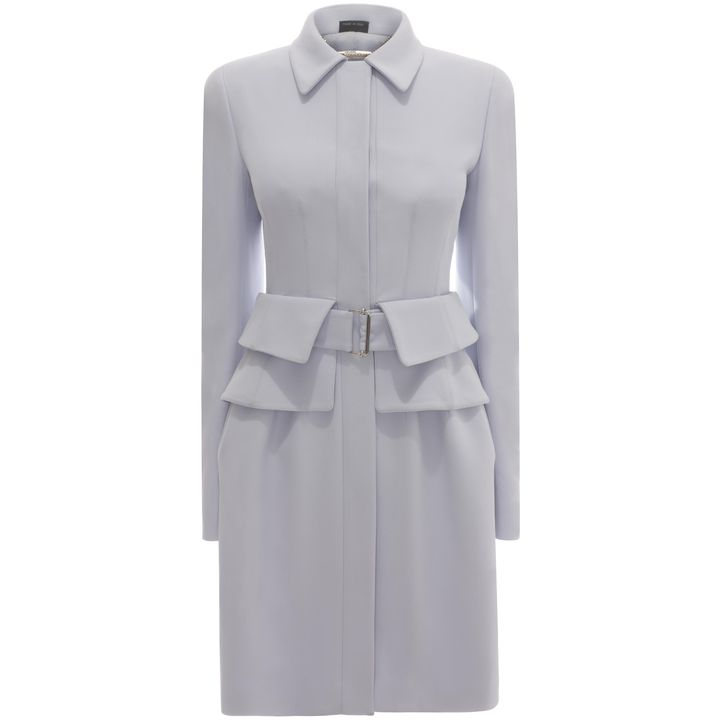 Alexander McQueen, Utility Peplum Coat Dress