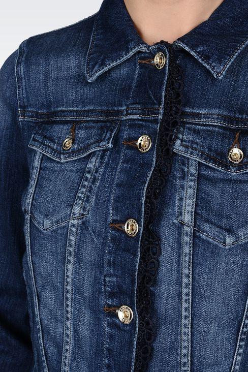 Jeansjacke armani damen