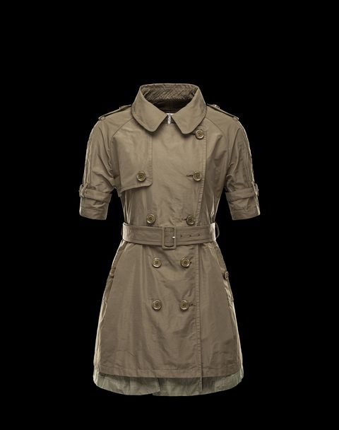 MONCLER Women - Spring-Summer 14 - OUTERWEAR - trench coat - DUCIS