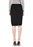 ALEXANDER WANG VACUUM PRESSED IRREGULAR PLEAT FRONT SKIRT SKIRT Adult 8_n_a