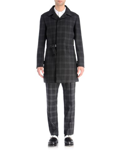 Wool Tartan Trench Coat
