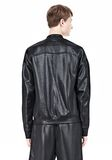 T by ALEXANDER WANG SHINY DOUBLE FACE KNIT BOMBER JACKET JACKETS AND OUTERWEAR  Adult 8_n_d