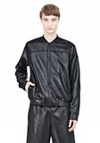 T by ALEXANDER WANG SHINY DOUBLE FACE KNIT BOMBER JACKET JACKETS AND OUTERWEAR  Adult 8_n_e