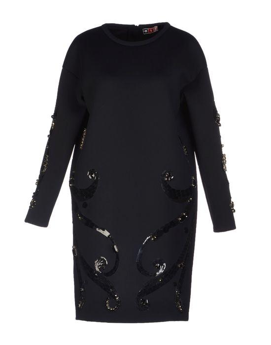 Фото MSGM Короткое платье. Купить с доставкой