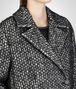 BOTTEGA VENETA BIANCO NERO SOFT HAIR COTTON WOOL COAT Coat or Jacket D ap
