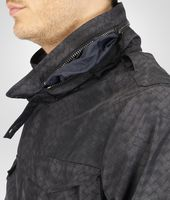 New Dark Grey Intrecciolusion Parka