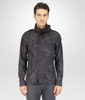 PARKA MIT INTRECCIOLUSION NEW DARK GREY