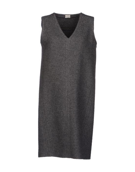 Фото AGNONA Короткое платье. Купить с доставкой