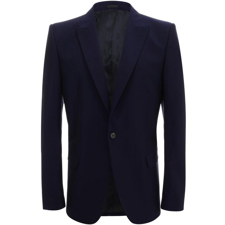 Alexander McQueen, Wool Mohair Jacket